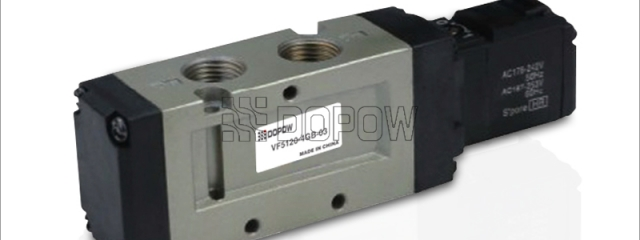 vf3000 vf5000 电磁阀 smc型 二位五通 中封式电磁阀图片