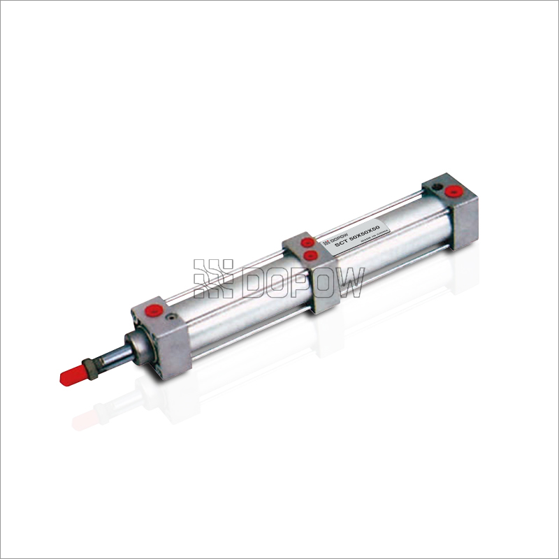 SCT-Bore-32mm-Multi-Position-Pneumatic-Cylinder-Adjustable-Buffer-port-size:1/8""