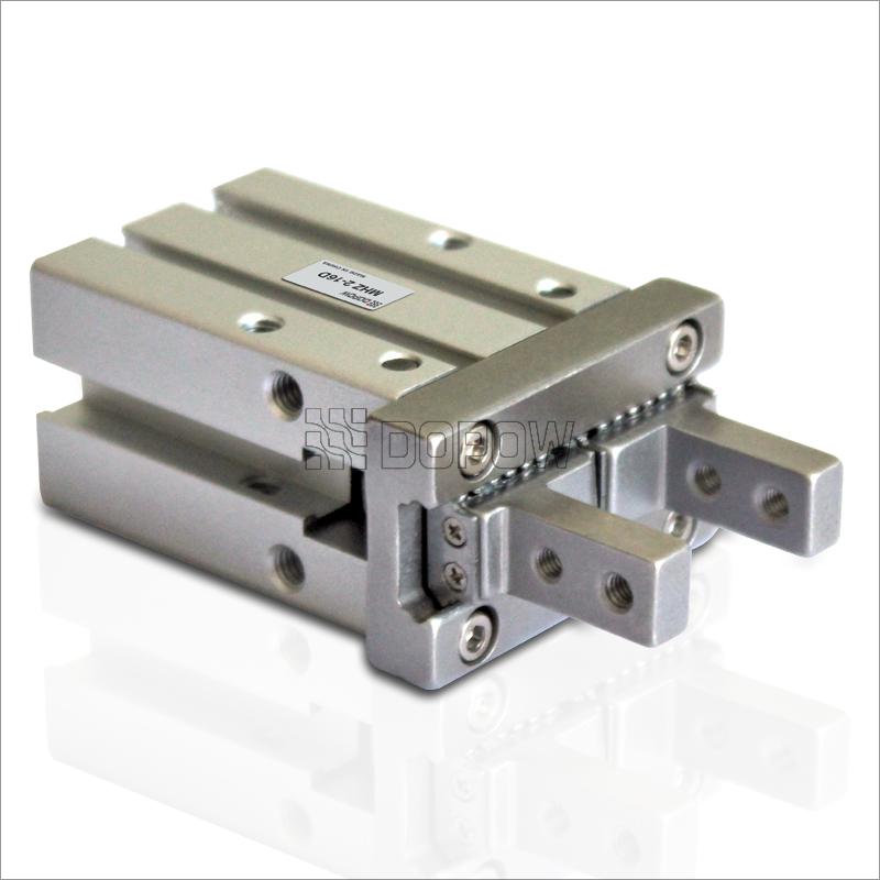 缸径6mm 平行开闭式气缸 平行气爪 手指气缸 标准图片